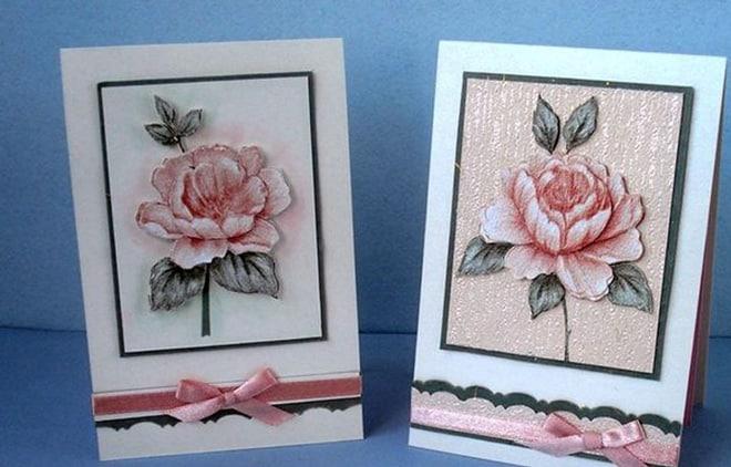 3D открытка своими руками в подарок маме на день рождения