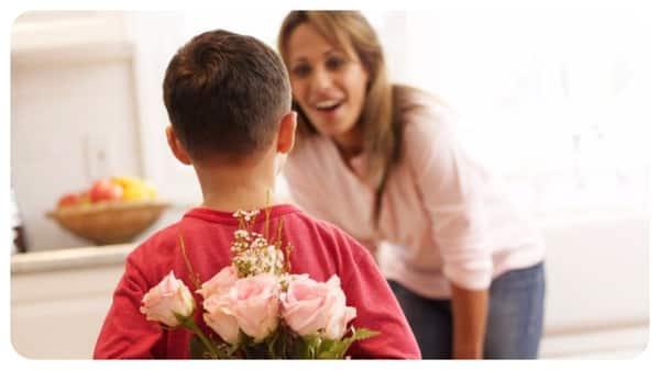 Цветочный сюрприз для мамы