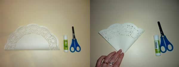 Шаг 1 - розы из бумаги