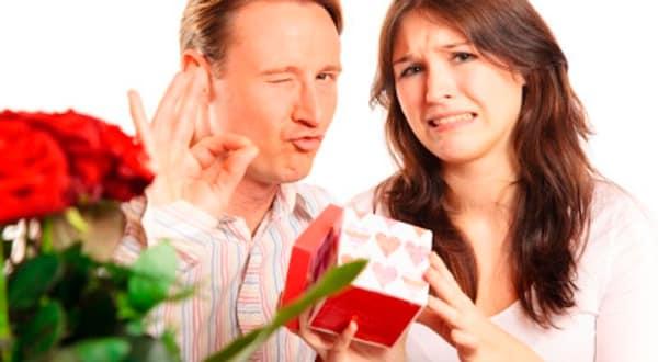 Жена недовольна подарком
