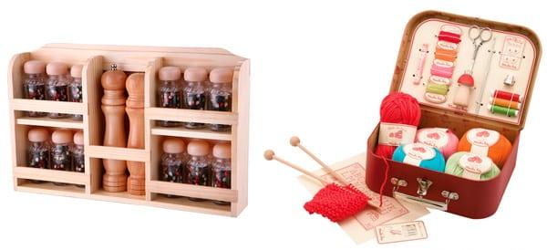 Наборы для кухни и вязания