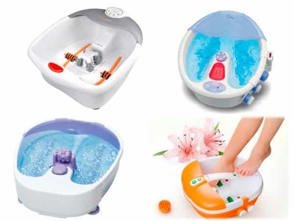 Массажные ванночки помогут снять усталость с ног