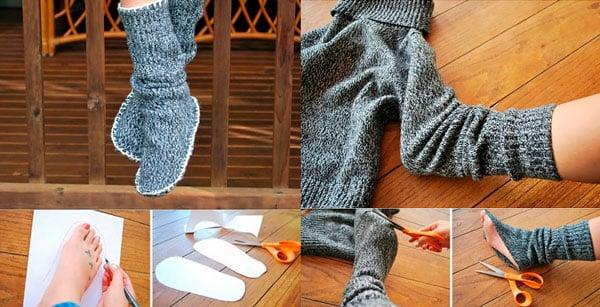 Вязанные носки самостоятельно