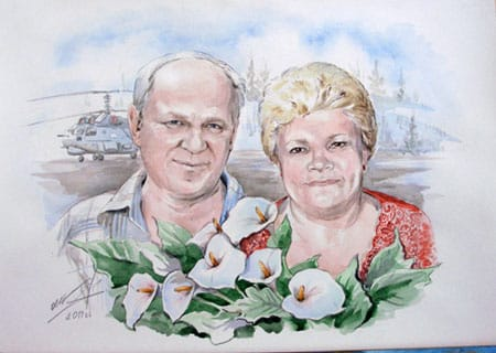 Рисунок для дедушки