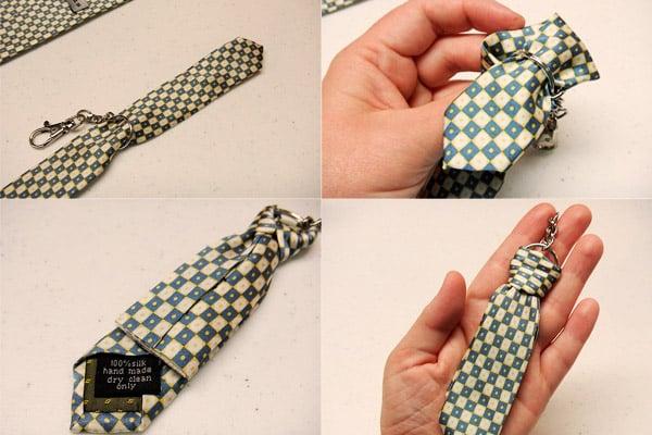 Брелок-галстук своими руками