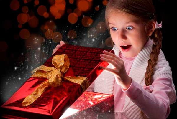 Радость от подарка