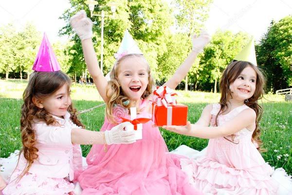 Девочке 5 лет день рождения