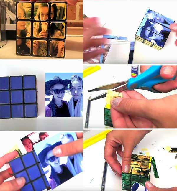 Фото-кубик Рубика