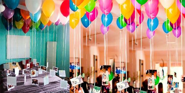 Гелиевые шары с фотокарточками