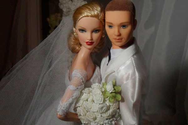 Кукла - жених Барби
