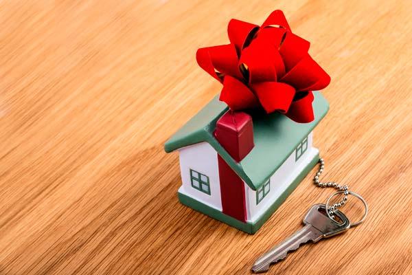 Ключи от квартиры на новоселье