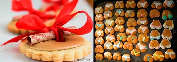 Печенья-поздравления