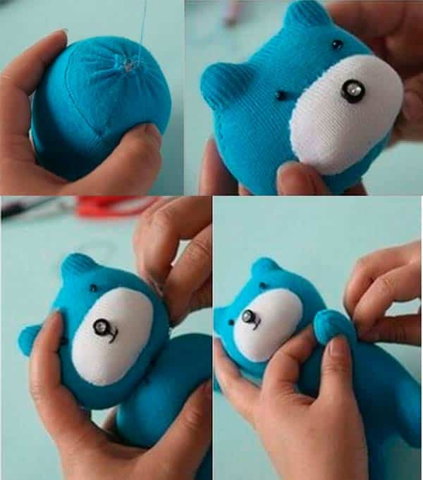 Плюшевый мишка - этап 2