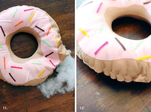 Веселый пончик - этап 3