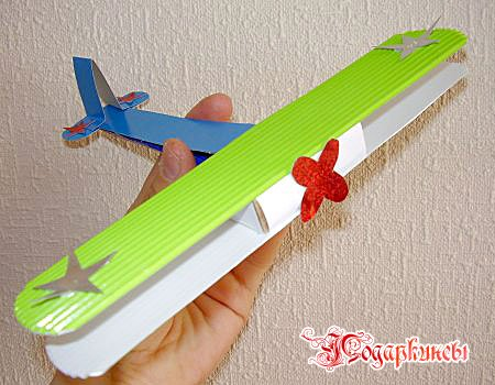 Самолетик своими руками