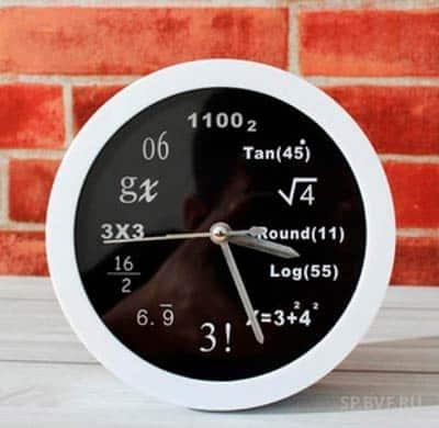 Часы с примерами