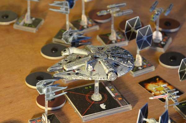 Настольная игра с миниатюрами - Star Wars: X-Wing