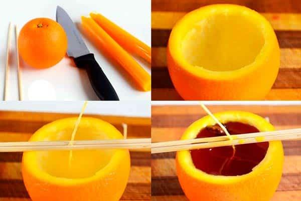 Инструкция - свеча-апельсин