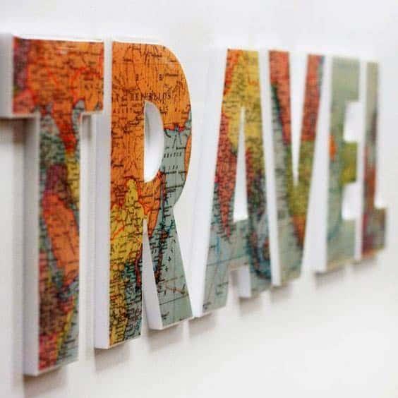 Туристические буквы