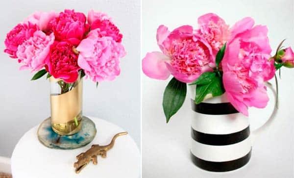 Геометрический стиль вазы