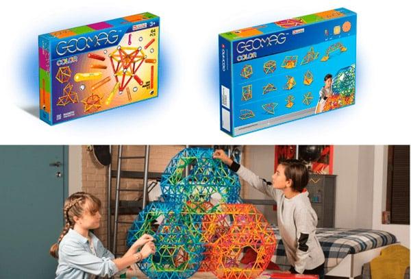 Магнитный конструктор для детей 7 лет