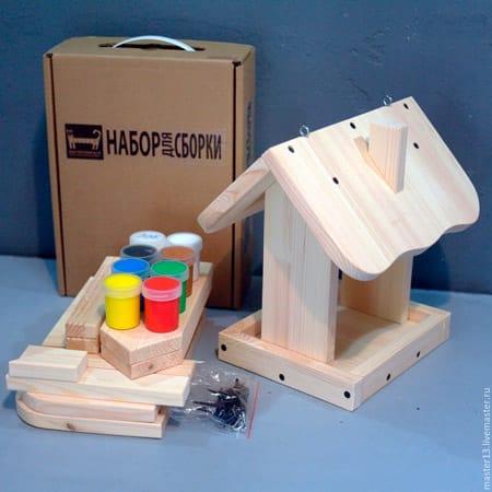Набор для изготовления кормушки для птиц