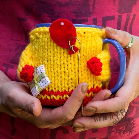 Вязанный подарок девочке своими руками