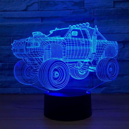 Тематический 3D-светильник