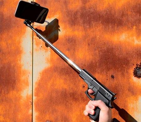 Монопод для селфи «Пистолет»