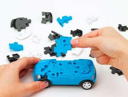 3D-конструктор MiniCooper или Audi.