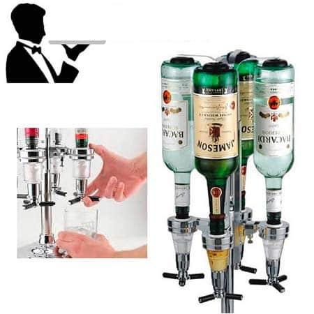 Домашний бар на 4 бутылки Butler