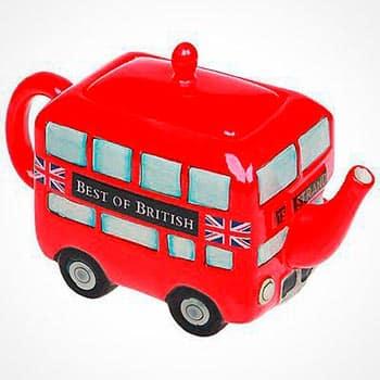 Необычный чайник в виде автобуса