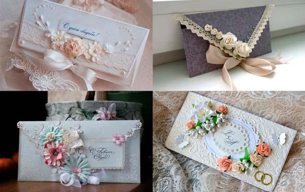 Оригинальные конверты ручной работы