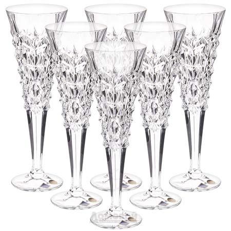 Хрустальные фужеры для шампанского
