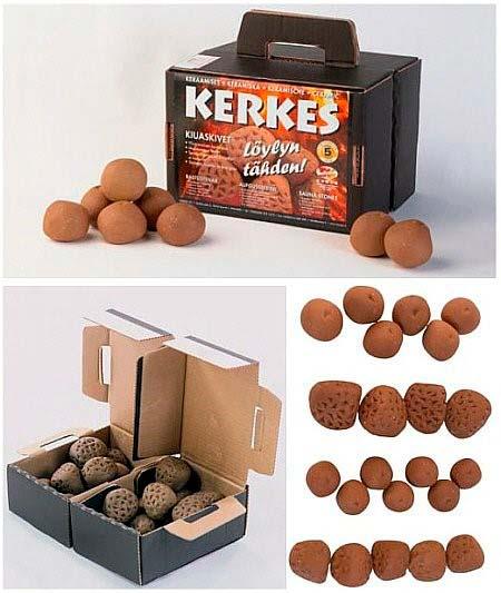 Комплект керамических камней Kerkes для печи