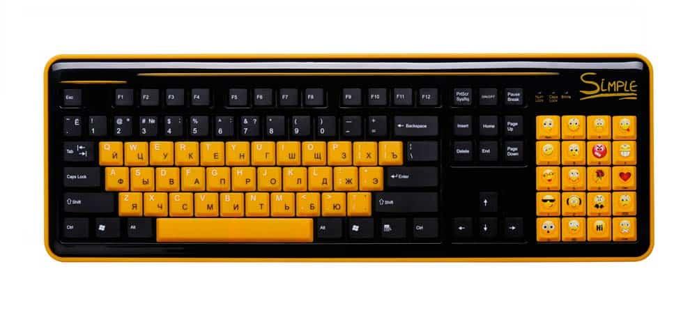 Эмоциональная клавиатура «Ни дня без улыбки»