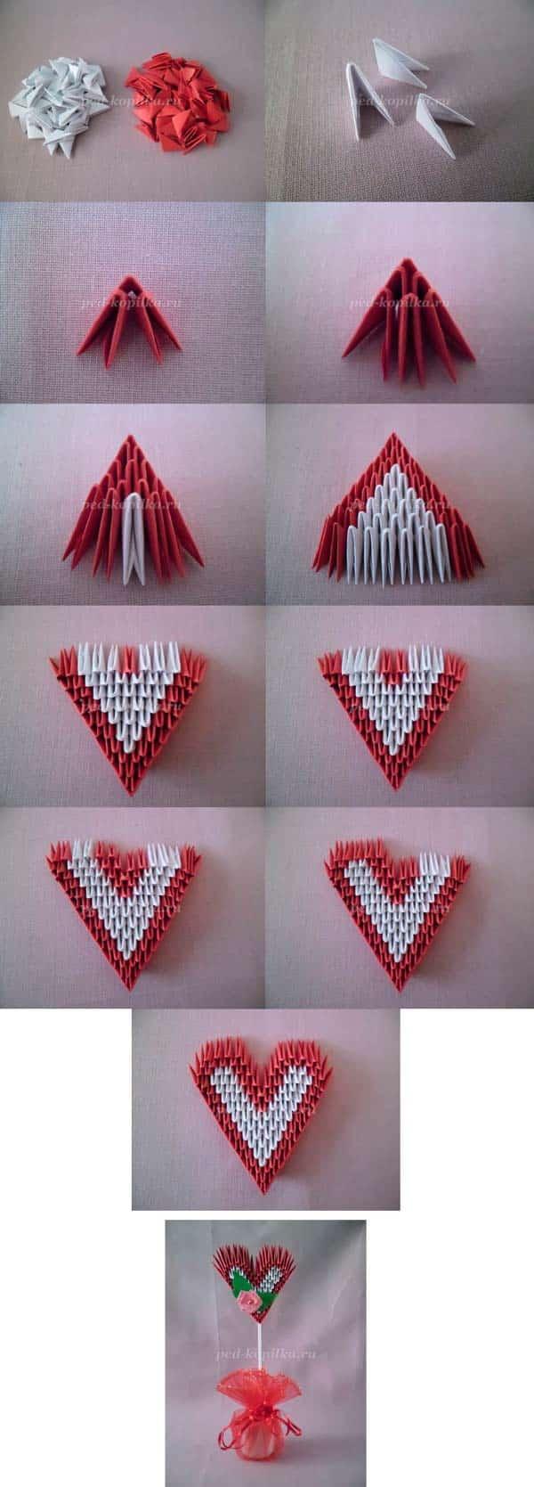 Модульное сердце пошагово