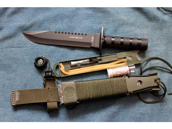 """Нож для выживания """"Аллигатор-2 НК5696"""""""