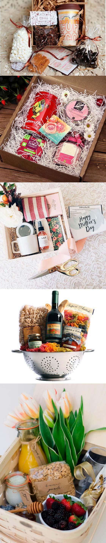 Подарочная коробка с чаем, печеньками и декором