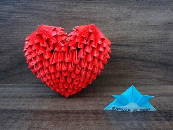 Модульное сердце своими руками