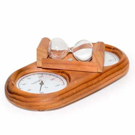 Термогигрометр с песочными часами Tylo SC