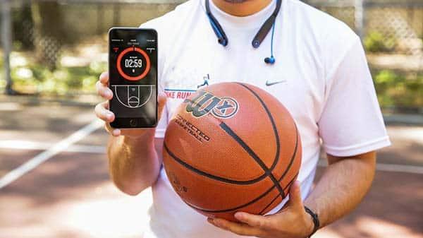 Баскетбольный мяч с отслеживанием бросков Wilson X