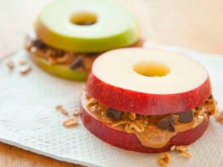 Яблочный сэндвич