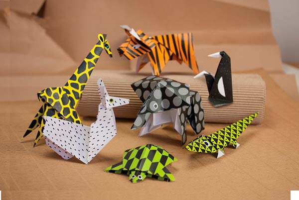 Зоопарк из оригами