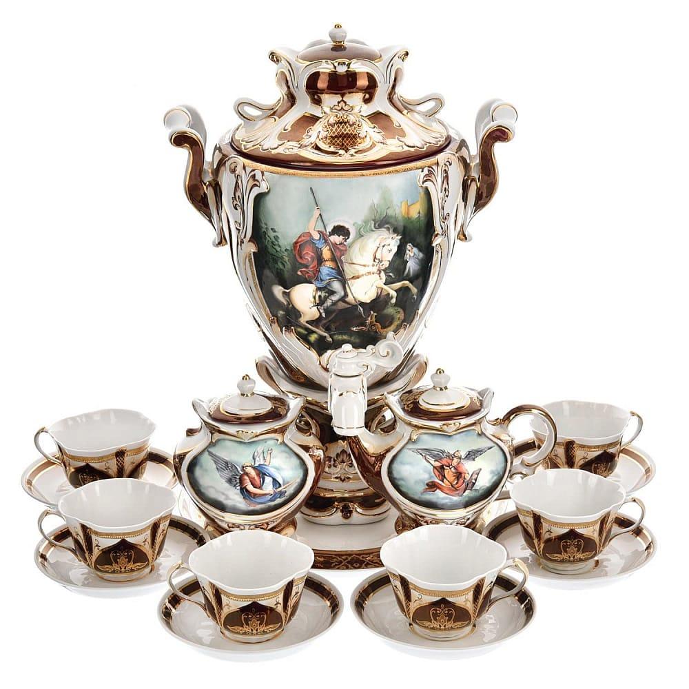 Чайный набор с самоваром