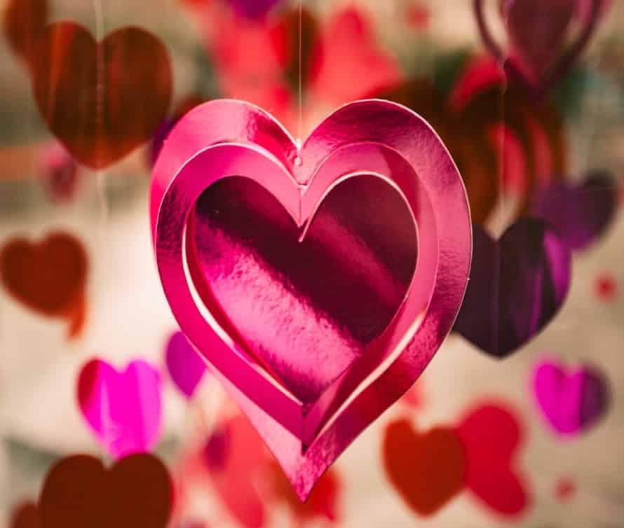 Висячее украшение сердечко