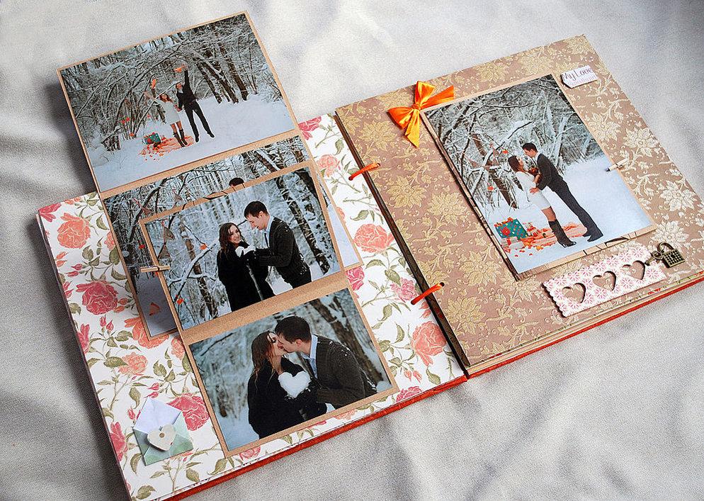 Фотоальбом с совместными фотографиями
